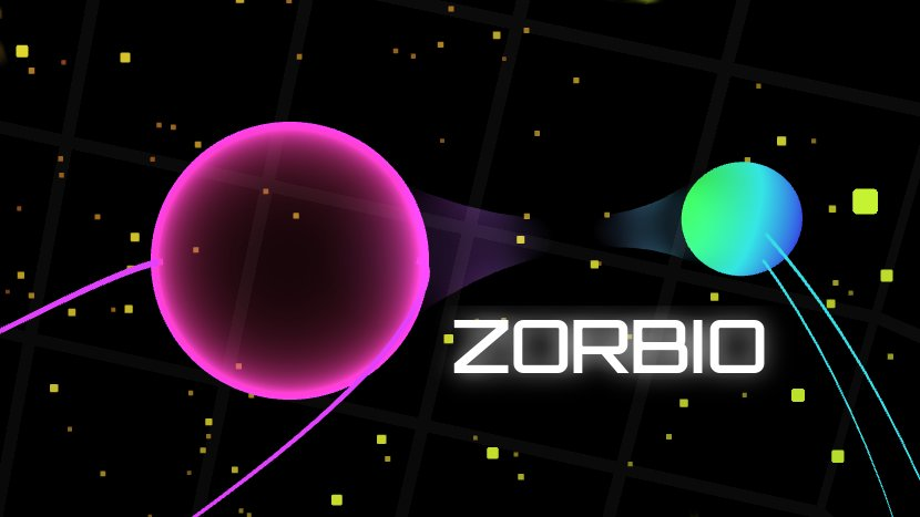 player sphere leaving trails in Zorbio