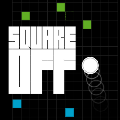 logo for game: Square Off